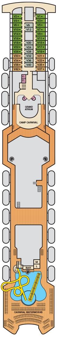 Deck 11 - Verandah